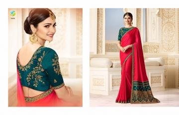 VINAY SHEESHA SPARKLE EMBROIDERED SAREES CATALOG WHOLESALE SUPPLIER DEALER BEST RATE BY GOSIYA EXPORTS SURAT (1)