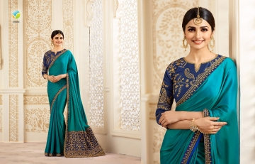 VINAY SHEESHA SPARKLE EMBROIDERED SAREES CATALOG WHOLESALE SUPPLIER DEALER BEST RATE BY GOSIYA EXPORTS SURAT (2)