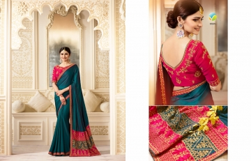 VINAY SHEESHA SPARKLE EMBROIDERED SAREES CATALOG WHOLESALE SUPPLIER DEALER BEST RATE BY GOSIYA EXPORTS SURAT (4)