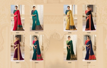 VINAY SHEESHA SPARKLE EMBROIDERED SAREES CATALOG WHOLESALE SUPPLIER DEALER BEST RATE BY GOSIYA EXPORTS SURAT (9)