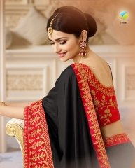 VINAY SHEESHA SPARKLE EMBROIDERED SAREES CATALOG WHOLESALE SUPPLIER DEALER BEST RATE BY GOSIYA EXPORTS SURAT