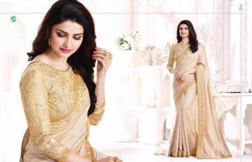 Vinay starwalk blossom party wear saree collection BY GOSIYA EXPORTS (10)