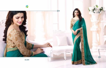 Vinay starwalk blossom party wear saree collection BY GOSIYA EXPORTS (11)
