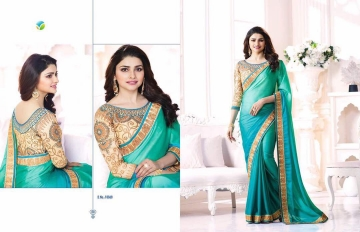 Vinay starwalk blossom party wear saree collection BY GOSIYA EXPORTS (7)