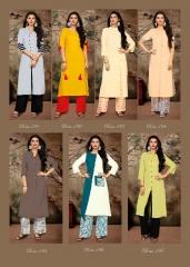 Vink adore rayon kurti and plazzo sets catalog BY GOSIYA EXPORTS (10)