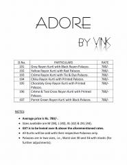 Vink adore rayon kurti and plazzo sets catalog BY GOSIYA EXPORTS (7)