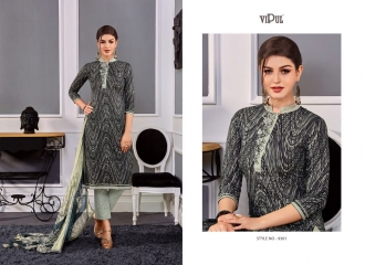 VIPUL 9300 SERIES COTTON SATIN SALWAR KAMEEZ WHOLESALE VIPUL FASHION BEST RATE (1)