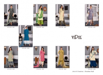 VIPUL 9300 SERIES COTTON SATIN SALWAR KAMEEZ WHOLESALE VIPUL FASHION BEST RATE (10)