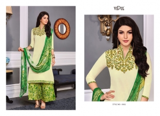 VIPUL 9300 SERIES COTTON SATIN SALWAR KAMEEZ WHOLESALE VIPUL FASHION BEST RATE (2)
