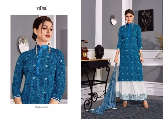 VIPUL 9300 SERIES COTTON SATIN SALWAR KAMEEZ WHOLESALE VIPUL FASHION BEST RATE (3)