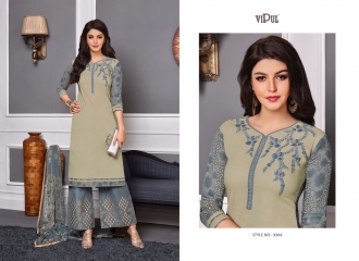 VIPUL 9300 SERIES COTTON SATIN SALWAR KAMEEZ WHOLESALE VIPUL FASHION BEST RATE (4)