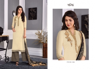 VIPUL 9300 SERIES COTTON SATIN SALWAR KAMEEZ WHOLESALE VIPUL FASHION BEST RATE (6)