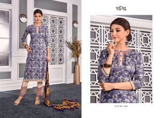 VIPUL 9300 SERIES COTTON SATIN SALWAR KAMEEZ WHOLESALE VIPUL FASHION BEST RATE (7)
