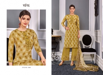 VIPUL 9300 SERIES COTTON SATIN SALWAR KAMEEZ WHOLESALE VIPUL FASHION BEST RATE (8)