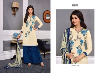 VIPUL 9300 SERIES COTTON SATIN SALWAR KAMEEZ WHOLESALE VIPUL FASHION BEST RATE (9)