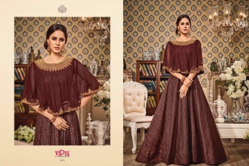 VIPUL ALL TIME SUPER DESIGNS CATALOGS OF PARTY WEAR SALWAR SUIT WHOLESLAE BEST RATE BY GOSIYA EXPORTS SURAT (1)