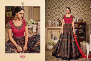 VIPUL ALL TIME SUPER DESIGNS CATALOGS OF PARTY WEAR SALWAR SUIT WHOLESLAE BEST RATE BY GOSIYA EXPORTS SURAT (17)