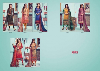VIPUL DCAT VOL 74 SUITS CATALOG WHOLESALE VIPUL DEALER BY GOSIYA EXPORTS (9)