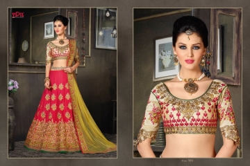 VIPUL FASHION 901-909 SERIES DESIGNER WEDDING PARTY WEAR LEHENGA (1)