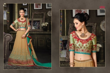 VIPUL FASHION 901-909 SERIES DESIGNER WEDDING PARTY WEAR LEHENGA (12)
