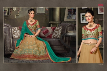 VIPUL FASHION 901-909 SERIES DESIGNER WEDDING PARTY WEAR LEHENGA (13)