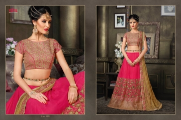 VIPUL FASHION 901-909 SERIES DESIGNER WEDDING PARTY WEAR LEHENGA (14)
