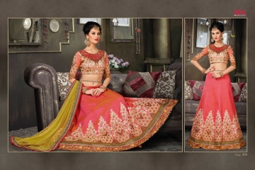 VIPUL FASHION 901-909 SERIES DESIGNER WEDDING PARTY WEAR LEHENGA (15)