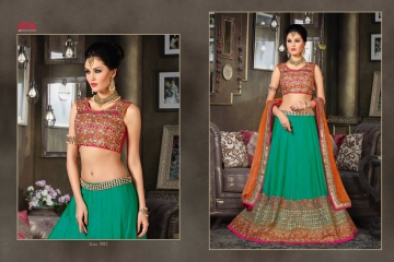VIPUL FASHION 901-909 SERIES DESIGNER WEDDING PARTY WEAR LEHENGA (2)