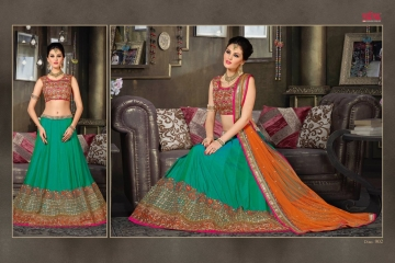 VIPUL FASHION 901-909 SERIES DESIGNER WEDDING PARTY WEAR LEHENGA (3)