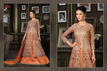 VIPUL FASHION 901-909 SERIES DESIGNER WEDDING PARTY WEAR LEHENGA (4)