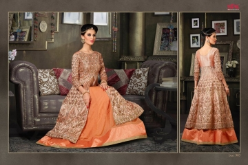 VIPUL FASHION 901-909 SERIES DESIGNER WEDDING PARTY WEAR LEHENGA (5)