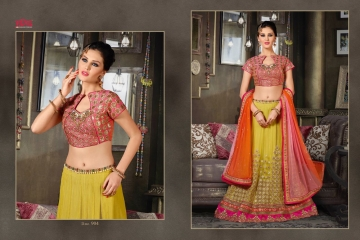 VIPUL FASHION 901-909 SERIES DESIGNER WEDDING PARTY WEAR LEHENGA (6)