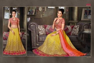 VIPUL FASHION 901-909 SERIES DESIGNER WEDDING PARTY WEAR LEHENGA (7)