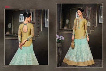 VIPUL FASHION 901-909 SERIES DESIGNER WEDDING PARTY WEAR LEHENGA (9)
