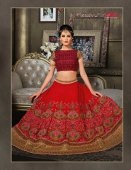 VIPUL FASHION 901-909 SERIES DESIGNER WEDDING PARTY WEAR LEHENGA COLLECTION WHOLESALE BEST RATE BY GOSIYA EXPORTS SURAT