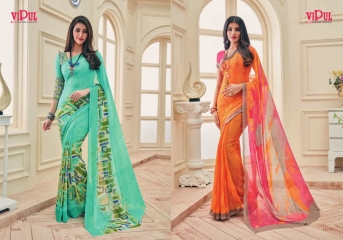 VIPUL FASHION AYAAN TRENDZ GEORGETTE SAREES WHOLESALER BEST RATE BY GOSIYA EXPORTS SURAT ONLINE (10)
