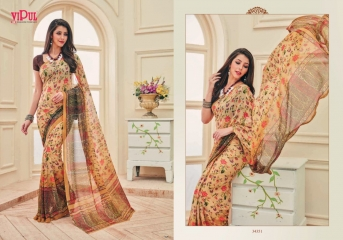 VIPUL FASHION AYAAN TRENDZ GEORGETTE SAREES WHOLESALER BEST RATE BY GOSIYA EXPORTS SURAT ONLINE (11)