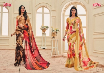 VIPUL FASHION AYAAN TRENDZ GEORGETTE SAREES WHOLESALER BEST RATE BY GOSIYA EXPORTS SURAT ONLINE (3)