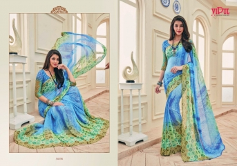 VIPUL FASHION AYAAN TRENDZ GEORGETTE SAREES WHOLESALER BEST RATE BY GOSIYA EXPORTS SURAT ONLINE (4)