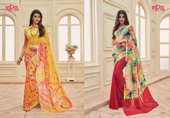 VIPUL FASHION AYAAN TRENDZ GEORGETTE SAREES WHOLESALER BEST RATE BY GOSIYA EXPORTS SURAT ONLINE (5)