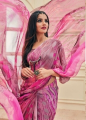 VIPUL FASHION AYAAN TRENDZ GEORGETTE SAREES WHOLESALER BEST RATE BY GOSIYA EXPORTS SURAT ONLINE