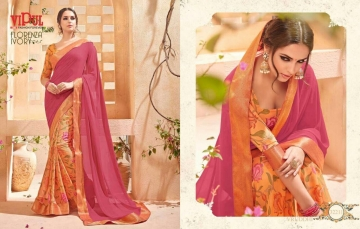 VIPUL FASHION BY CAT 322 FANCY SAREES WHOLESALE BEST RATE SURAT BY VIPUL FASHION (1)