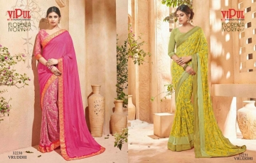 VIPUL FASHION BY CAT 322 FANCY SAREES WHOLESALE BEST RATE SURAT BY VIPUL FASHION (11)