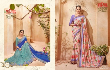 VIPUL FASHION BY CAT 322 FANCY SAREES WHOLESALE BEST RATE SURAT BY VIPUL FASHION (2)