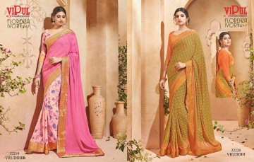 VIPUL FASHION BY CAT 322 FANCY SAREES WHOLESALE BEST RATE SURAT BY VIPUL FASHION (6)