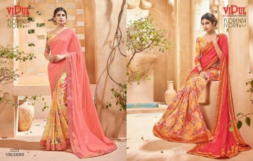 VIPUL FASHION BY CAT 322 FANCY SAREES WHOLESALE BEST RATE SURAT BY VIPUL FASHION (7)