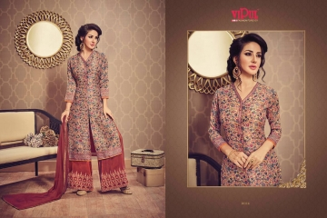 VIPUL FASHION DESIGNER WEAR COLLECTION CATALOGUE WHOLESALE DEALER SUPPLIER BEST RATE BY GOSIYA EXPORTS SURAT (5)