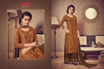 VIPUL FASHION DESIGNER WEAR COLLECTION CATALOGUE WHOLESALE DEALER SUPPLIER BEST RATE BY GOSIYA EXPORTS SURAT (8)