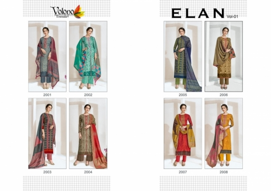 VOLONO ELAN VOL 1 CAMBRIC COTTON CASUAL SUITS SUMMER COLLECTION WHOLESALE DEALER BEST RATE BY GOSIYA EXPROTS SURAT (10)