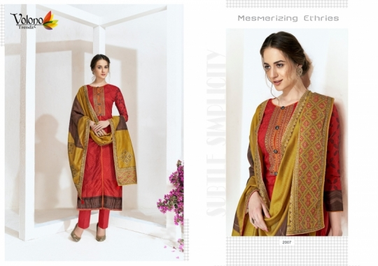 VOLONO ELAN VOL 1 CAMBRIC COTTON CASUAL SUITS SUMMER COLLECTION WHOLESALE DEALER BEST RATE BY GOSIYA EXPROTS SURAT (9)